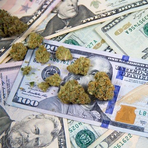 LEGAL POT SALES REACH $10 BILLION IN 2017