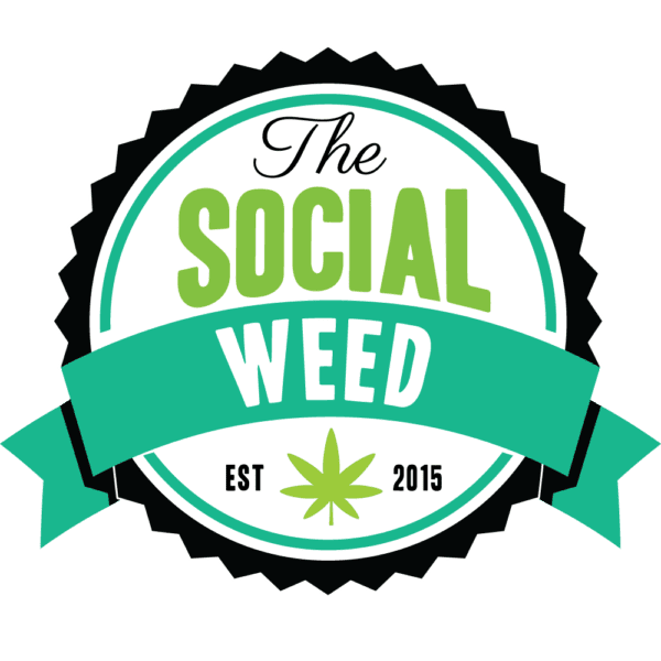 The Social Weed logo for sub-domain footer