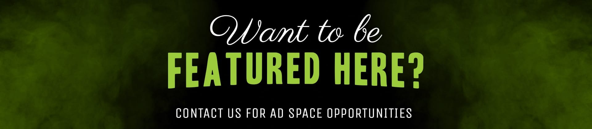 Adspace Opportunity