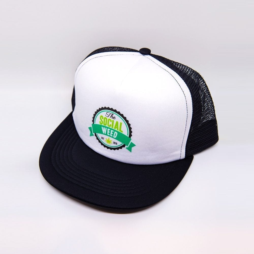 The Social Weed Trucker Hat