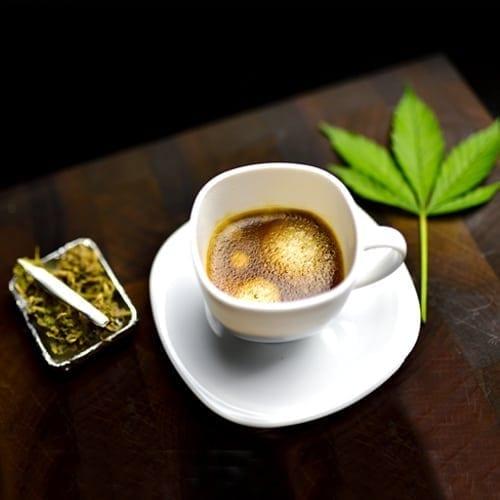 Canna-Carmel Coffee