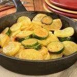 Zucchini Squash Skillet