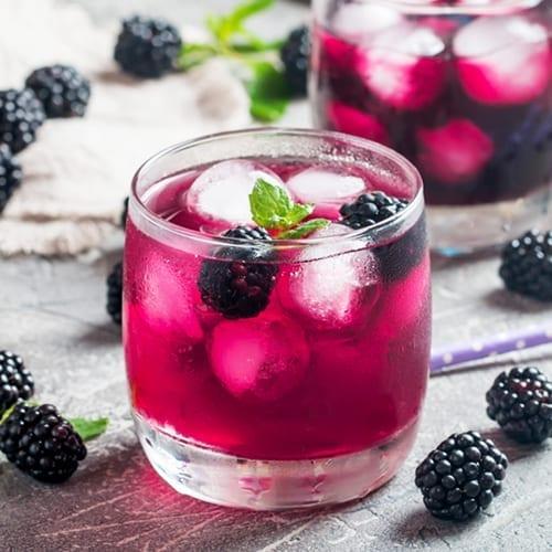 Blackberry Marqaha Lemonade