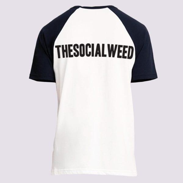 The Social Weed Baseball tshirt