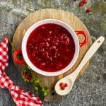 Infused cranberry sauce