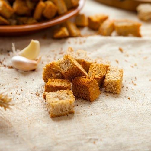 Garlic Crutons