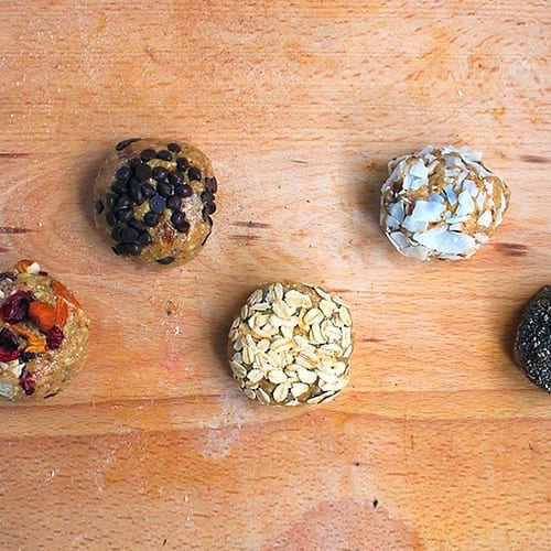 Vegan raw balls
