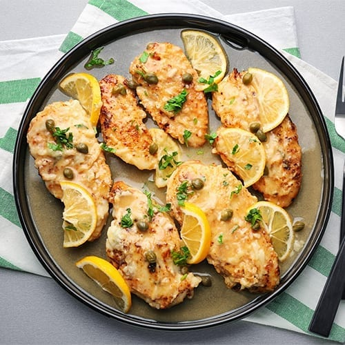 Infused Chicken Piccata