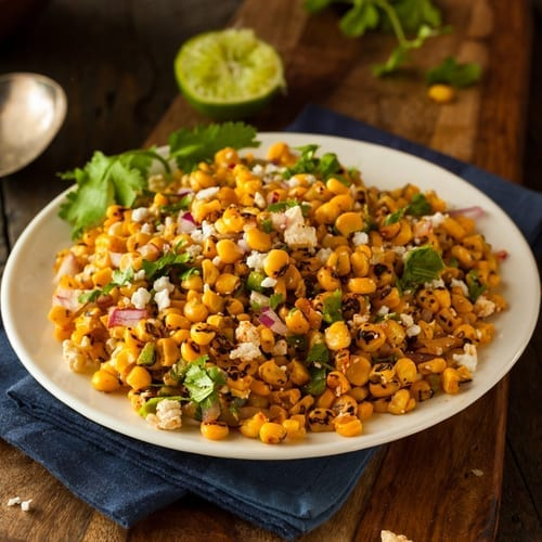 infused grill corn salad