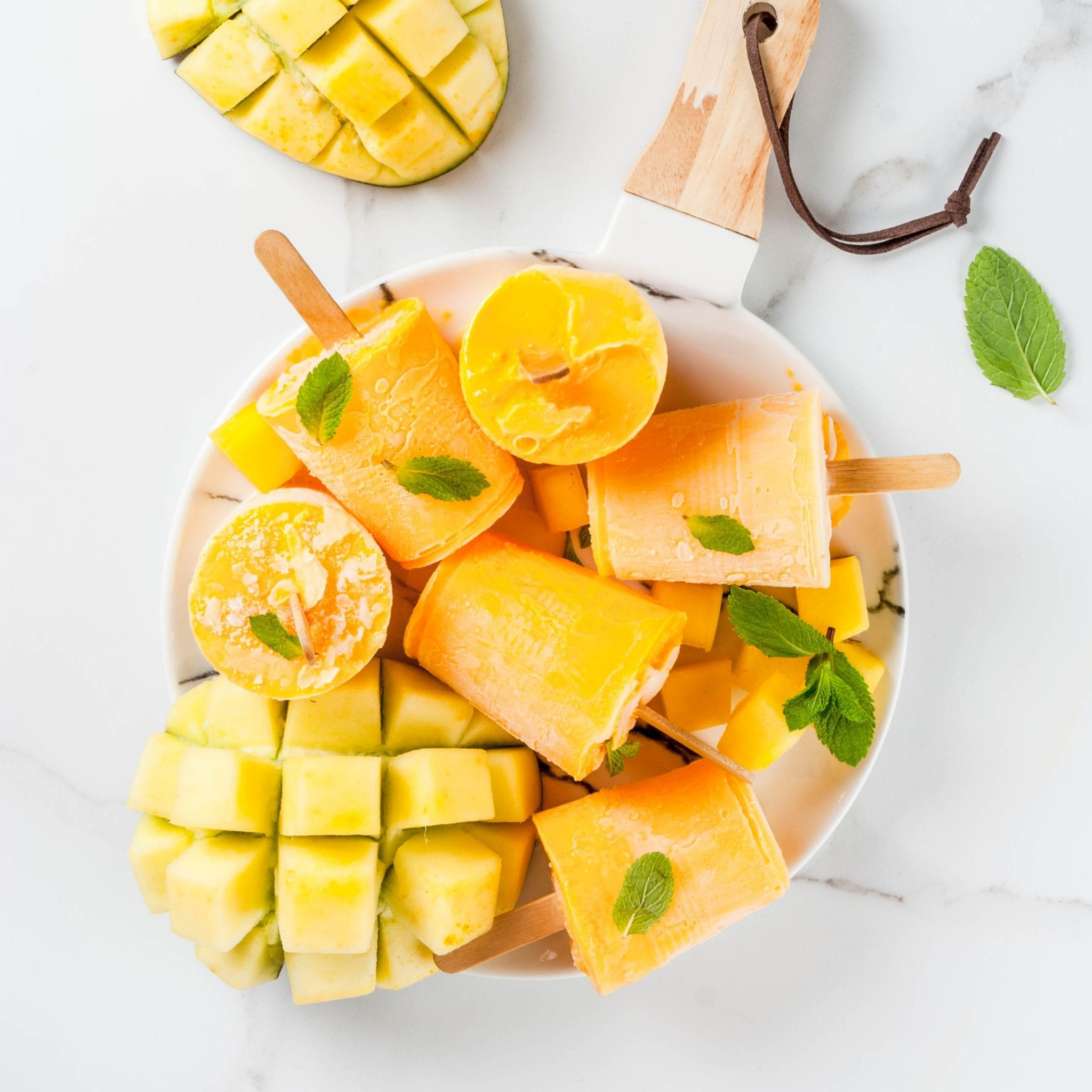 Infused Mango Potsicles