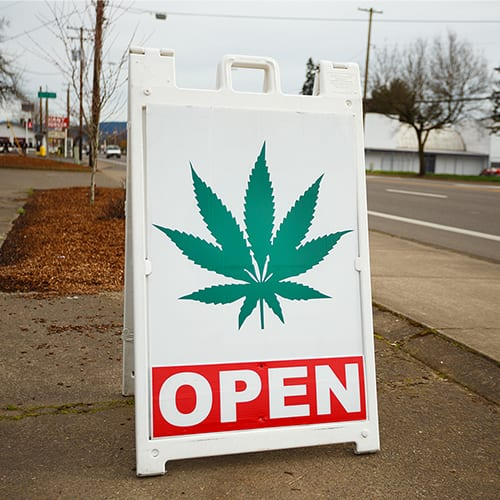 Dispensary Open Sign