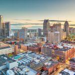 Michigan cityscape